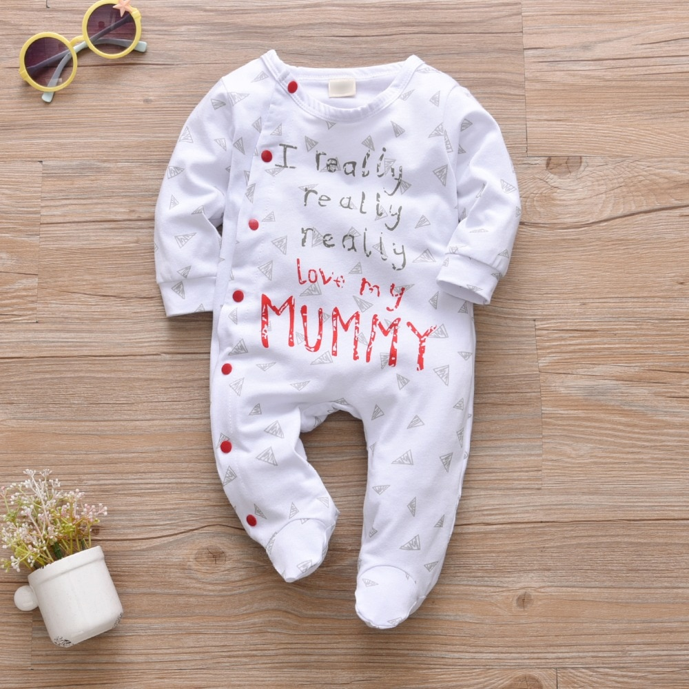 Baby's Colorful Cotton Romper