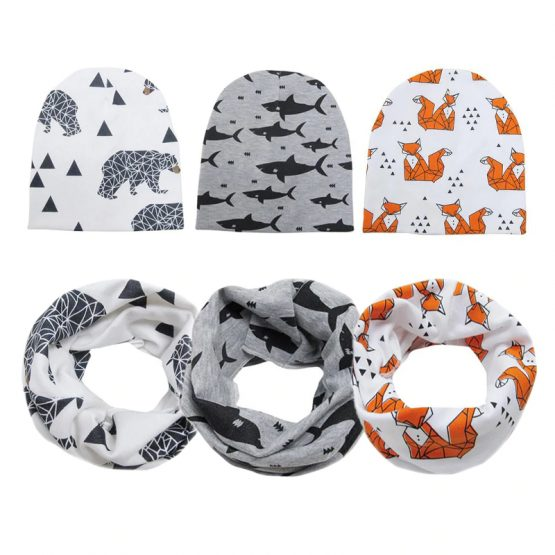 Baby Boy's Printed Cotton Hat